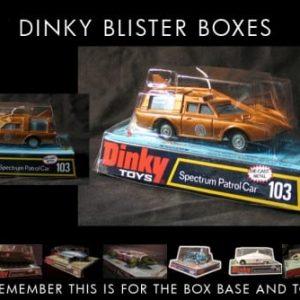 Dinky 352 ED STRAKER/'S VOITURE vide repro box /& Instructions