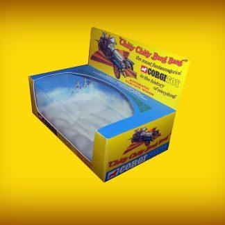 Corgi Toys 266 Chitty Chitty Bang Bang Repro Box with Plastic Cloud