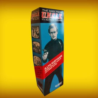 Gilbert Toys Man From U.N.C.L.E Illya Kuryakin 12″ Figure Repro Box