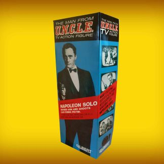 Gilbert Toys Man From U.N.C.L.E Napoleon Solo 12″ Figure Repro Box