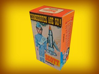 Cecil Coleman Scott Tracy Puppet Repro Box