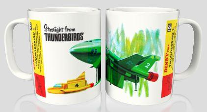 Dinky 101 Thunderbird 2 Mug