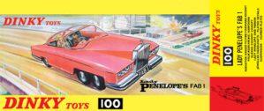 Dinky 100 Lady Penelope's FAB 1 Mug