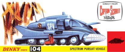 Dinky 104 Spectrum Pursuit Vehicle (SPV) Mug