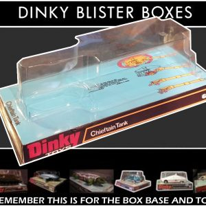 Dinky 683 Chieftan Tank Bubble/Blister Repro Box