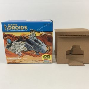 Vintage Star Wars Droids Side Gunner box and inserts