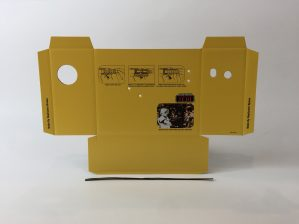 Replacement Vintage Star Wars The Return Of The Jedi Biker Scout Laser Pistol box and inserts