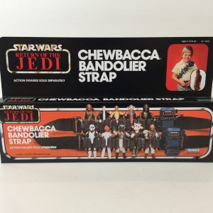 Replacement Vintage Star Wars The Return Of The jedi Chewbacca Bandolier box