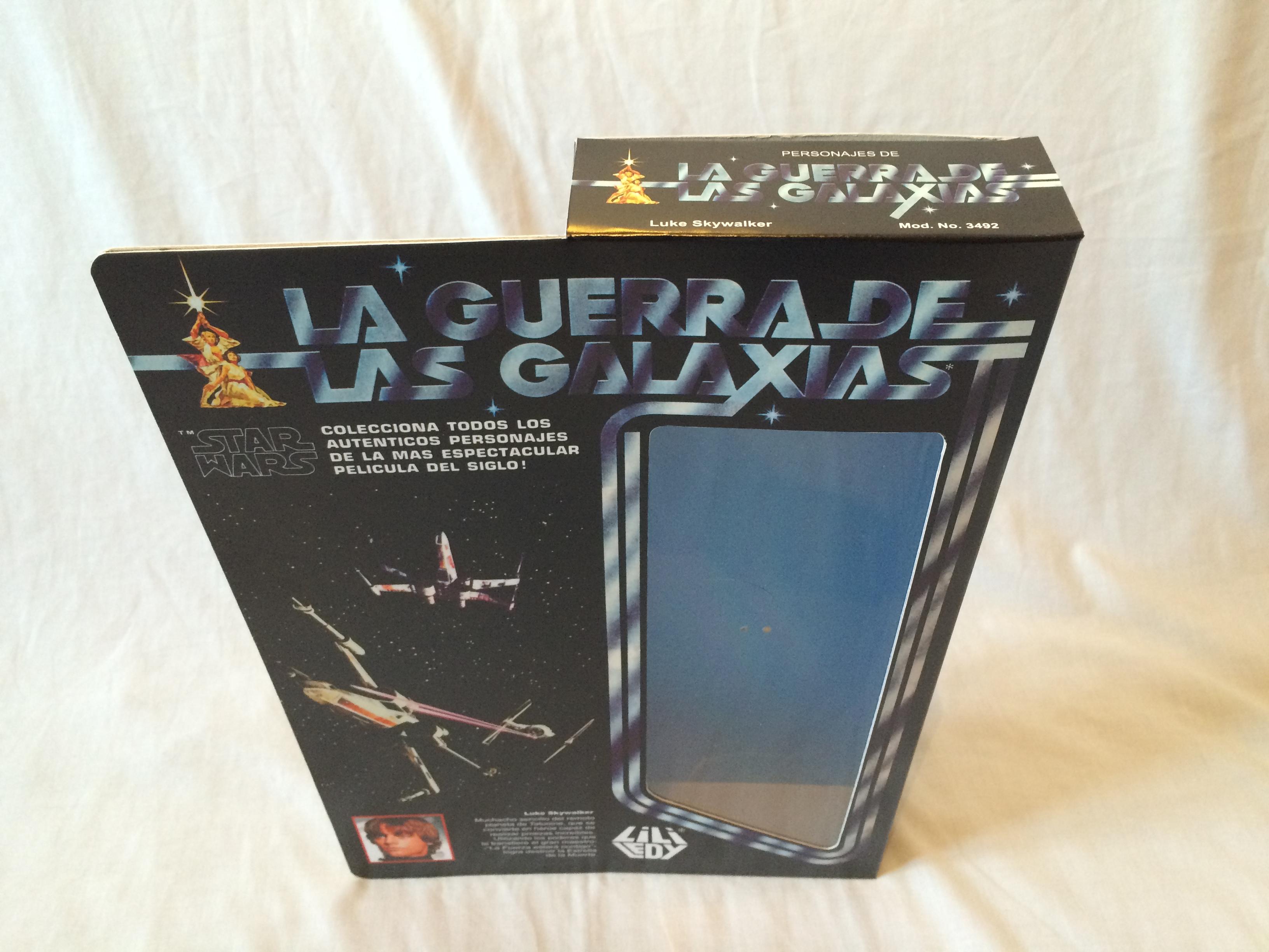 "Amphibious Pelicula replacement vintage star wars 12"" lili ledy luke skywalker box and inserts"