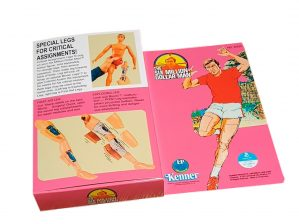 Kenner Six Million Dollar Man Critical Assignment Legs Reproduction Box rear of box