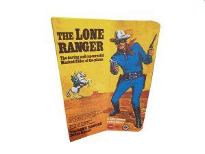 Marx Toys Lone Ranger figure Reproduction Box