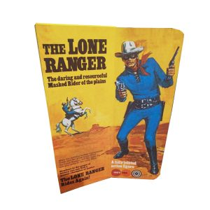 Marx Toys Lone Ranger figure Reproduction Box