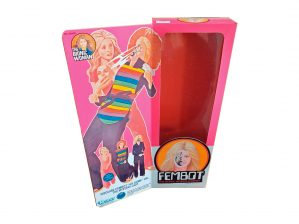 Kenner Fembot Reproduction Box