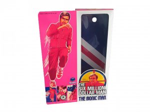 Kenner Six Million Dollar Man First Issue Reproduction Box
