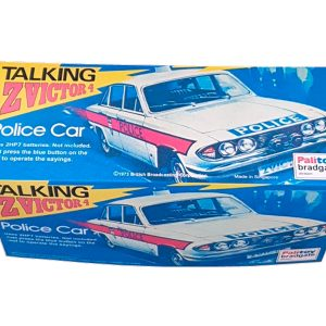 Palitoy Talking Z-Cars Z-Victor 4 Repro Box top of box