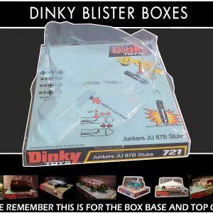 Dinky Toys 721 Junkers JU 87B Stuka Blister/Bubble Repro Box