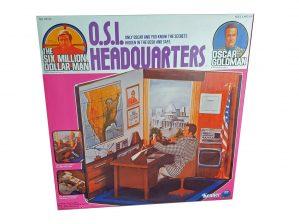 Kenner Six Million Dollar Man O.S.I. Headquarters Reproduction Box