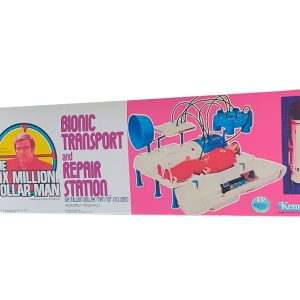 Kenner Six Million Dollar Man Bionic Transport and Repair Station Reproduction Box
