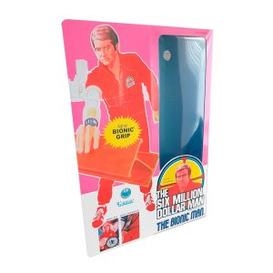 Kenner Six Million Dollar Man Bionic Grip Figure Repro Box Front