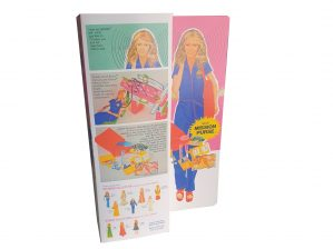 Kenner Bionic Woman Mission Purse Reproduction Box
