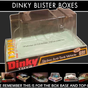 Dinky Toys 691 Striker Anti Tank Reproduction Bubble Box