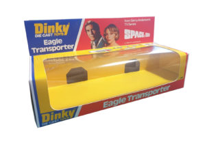 Dinky Toys 359 Space 1999 Eagle Transporter Repro Box