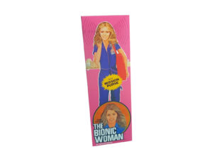 Denys Fisher Bionic Woman Mission Purse Non Window version