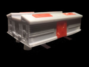 Dinky 359 Space 1999 Eagle Transporter 3D Printed replacement Pod