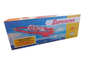 Plaston Toys Mike Mercury Supercar Reproduction box