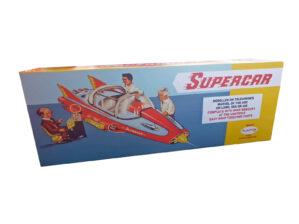 Plaston Toys Mike Mercury Supercar Reproduction box front