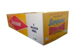 Plaston Toys Mike Mercury Supercar Reproduction box end