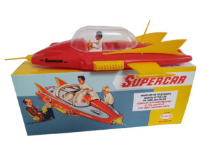 Plaston Toys Mike Mercury Supercar Reproduction box with Supercar