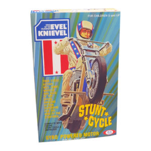 Ideal Toys Evel Knievel Stunt Cycle Repro Box