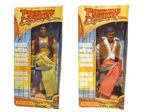 Matchbox Fighting Furies Cap'n Hook Figure Repro Box