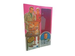 Kenner Oscar Goldman (Six Million Dollar Man) Figure Repro Box