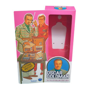 Kenner Oscar Goldman (Six Million Dollar Man) Figure Repro Box