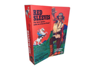 Marx Toys Red Sleeves Figure Repro Box