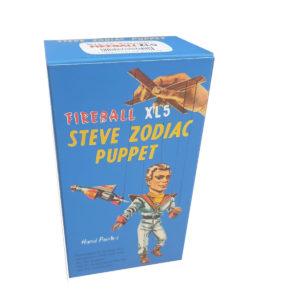 Cecil Coleman Steve Zodiac XL5 Puppet Repro Box