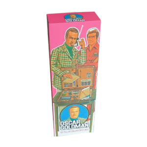 Denys Fisher Oscar Goldman Figure Reproduction Box (Non Window Version)