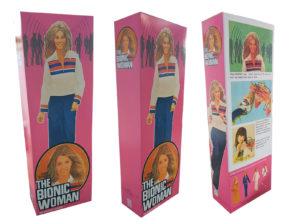 Denys Fisher Bionic Woman Figure Repro Box (Non Window Version) Code 3