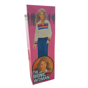 Denys Fisher Bionic Woman Figure Repro Box (Non Window Version) Code 3