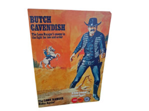 Marx Toys Butch Cavendish Figure Repro Box