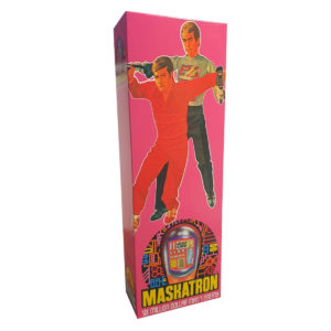 Denys Fisher Maskatron Figure Repro Box (Non Window Version)